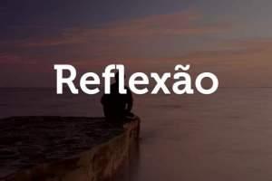 Reflexão: Não suportamos a ideia de sentir dor e por isso antecipamos nosso sofrimento