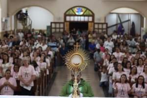 Paróquia de Santa Margarida de Antioquia recebe 3º PLC feminino