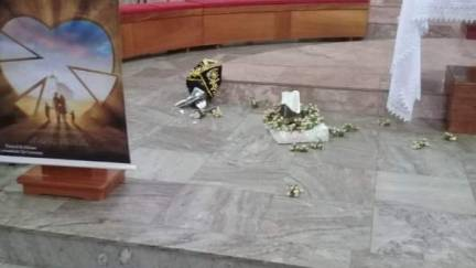 Homem é preso após invadir Igreja Matriz e destruir imagem de Nossa Senhora Aparecida