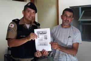PM realiza ações para ressaltar a importância do Disque Denúncia e sobre a criação de redes de proteção em Simonésia, Reduto e São João do Manhuaçu