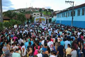 Missa campal em Santa Margarida na Quarta-feira de Cinzas