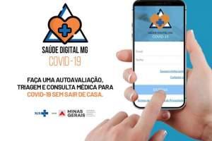 Aplicativo Saúde Digital MG Covid-19 tem aprovação de 95% dos usuários
