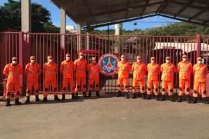 Cor laranja: novo fardamento operacional do Corpo de Bombeiros de Manhuaçu