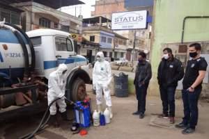 COVID-19: Prefeitura higieniza Delegacia e Presídio de Manhuaçu