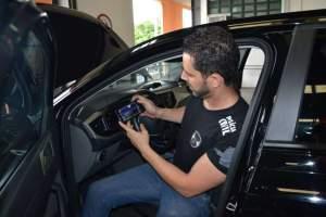 Polícia Civil em Manhuaçu recebe sistema de vistoria eletrônica veicular