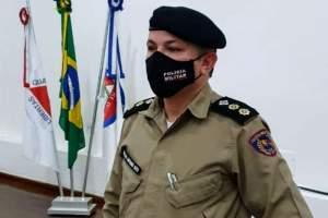 Comandante do 11° Batalhão de Policia Militar visita sede da 6ª Delegacia Regional da PC