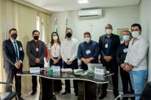 Secretaria de Governo realiza atendimento presencial aos prefeitos do CIS-Caparaó